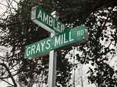 Street sign in Fauquier County VA