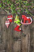Christmas Decoration Textile Handmade Toys