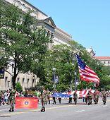 Memorial Day Parade in Washington, DC.