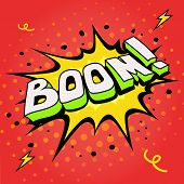 Boom. Comic book explosion.