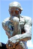 Thinker by Auguste Rodin