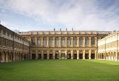 Wren Library In Trinity College Cambridge
