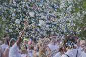 Color Run Bubble Fun