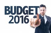 pic of budget  - Business man pointing the text - JPG