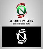 pic of letter n  - Set of Letter N logo symbol vector - JPG
