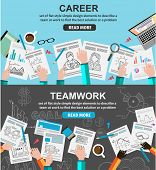 image of financial management  - Design Concepts for team work and career - JPG