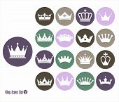 pic of crown jewels  - Crowns vintage set - JPG