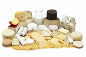 pic of milk products  - Assorted dairy products Milk eggs yogurt cheese butter - JPG