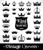 foto of crown jewels  - Crowns set  - JPG