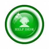 foto of helpdesk  - Helpdesk icon - JPG