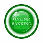 pic of internet-banking  - Online banking icon - JPG