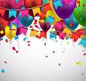 picture of confetti  - Celebrate background - JPG
