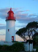Portland Lighthouse, Au