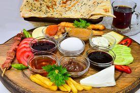 picture of breakfast  - breakfast service - JPG