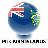 Bandeira das ilhas de Pitcairn Orb