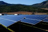 Solar power plant - Clean energy in Spain