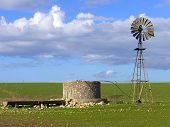 Windmill  Old Tank
