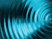 resonate or vibration ripple abstract