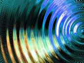 image of vibrator  - Vibration swirl abstract - JPG
