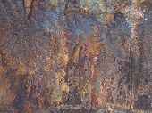 raw iron ore boulder texture