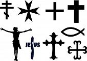 christian signs and crosses