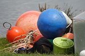 Buoys And Bucket