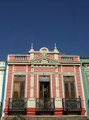 Historical House Fa?Ade Balcony poster