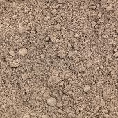 Fresh soil background closeup