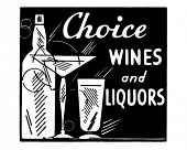 picture of wine bottle  - Choice Wines And Liquors  - JPG