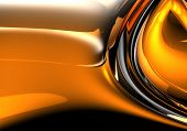 orange&silver background (abstract) 06