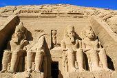 Ramses statue Abu Simbel ancient Egypt