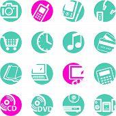 Circle E-Shop Icons