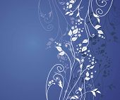 floral background. Ideally for use in your design