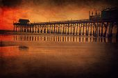 Fishing pier in Cocoa Beach, Florida
