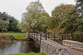 Bridge over the river in Bibury