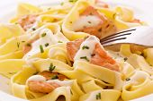 Tagliatelle with Salmon