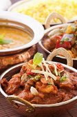 stock photo of curcuma  - Chicken Madras with Lentil Soup - JPG