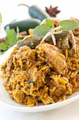 Biryani with chicken