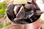 Mussels in Casserole