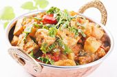 picture of paneer  - Paneer vegetable Jalfrezi - JPG