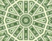 stock photo of twenty dollars  - Dollar design based on a twemty dollar bill - JPG