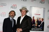 LOS ANGELES - NOV 5:  Christoph Waltz; John C. Reilly. arrives at the AFI FEST 2011 Gala Screening o