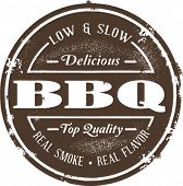 Classic Barbeque Stamp