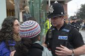 Devon & Corwall Police Officers Confonts Two Occupy Exeter Activists During Their Direct Action Outs