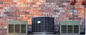 Three Air Conditioner Units