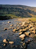 pic of swales  - Swaledale in the Yorkshire Dales National park england uk - JPG