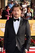 LOS ANGELES - JAN 29:  Nikolaj Coster-Waldau arrives at the 18th Annual Screen Actors Guild Awards at Shrine Auditorium on January 29, 2012 in Los Angeles, CA