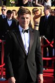 LOS ANGELES - JAN 29:  Chris Lowell arrives at the 18th Annual Screen Actors Guild Awards at Shrine Auditorium on January 29, 2012 in Los Angeles, CA