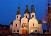 Cathedral of Our Lady of Pochaev. Mukachevo, Ukraine.