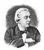 Russian politician Alexander Goyningen-G�?�?�?�?�?�?�?�¼ney. Engraving by Schyubler. Publis